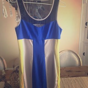 C. Luce block dress SZ S